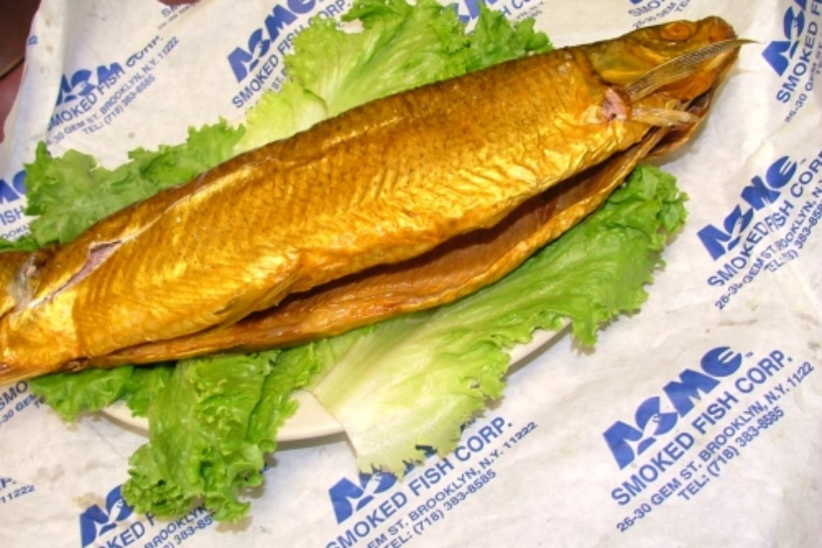 Smoked whitefish